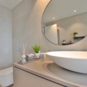 Runder Spiegel Badezimmer